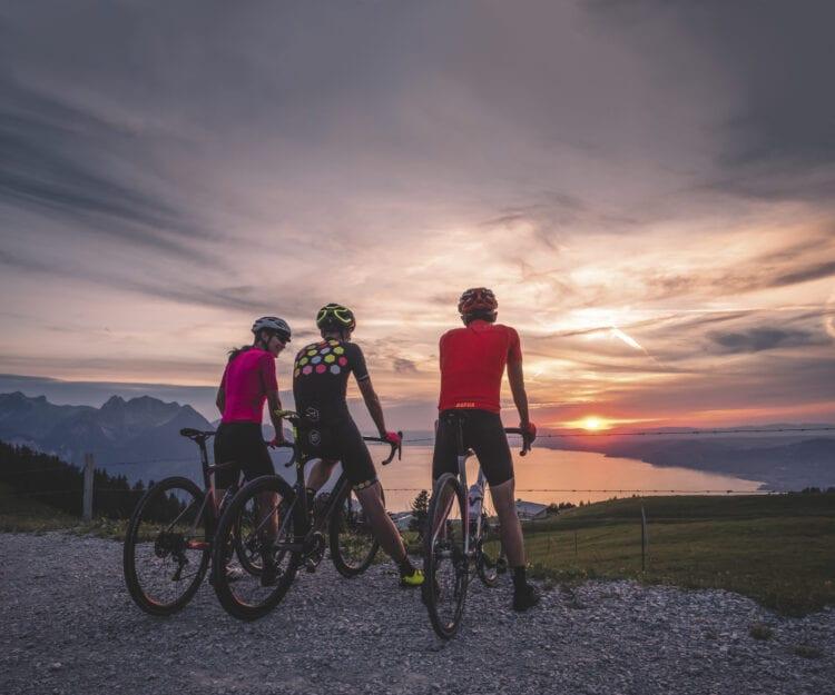 Meer van Genève wielrennen