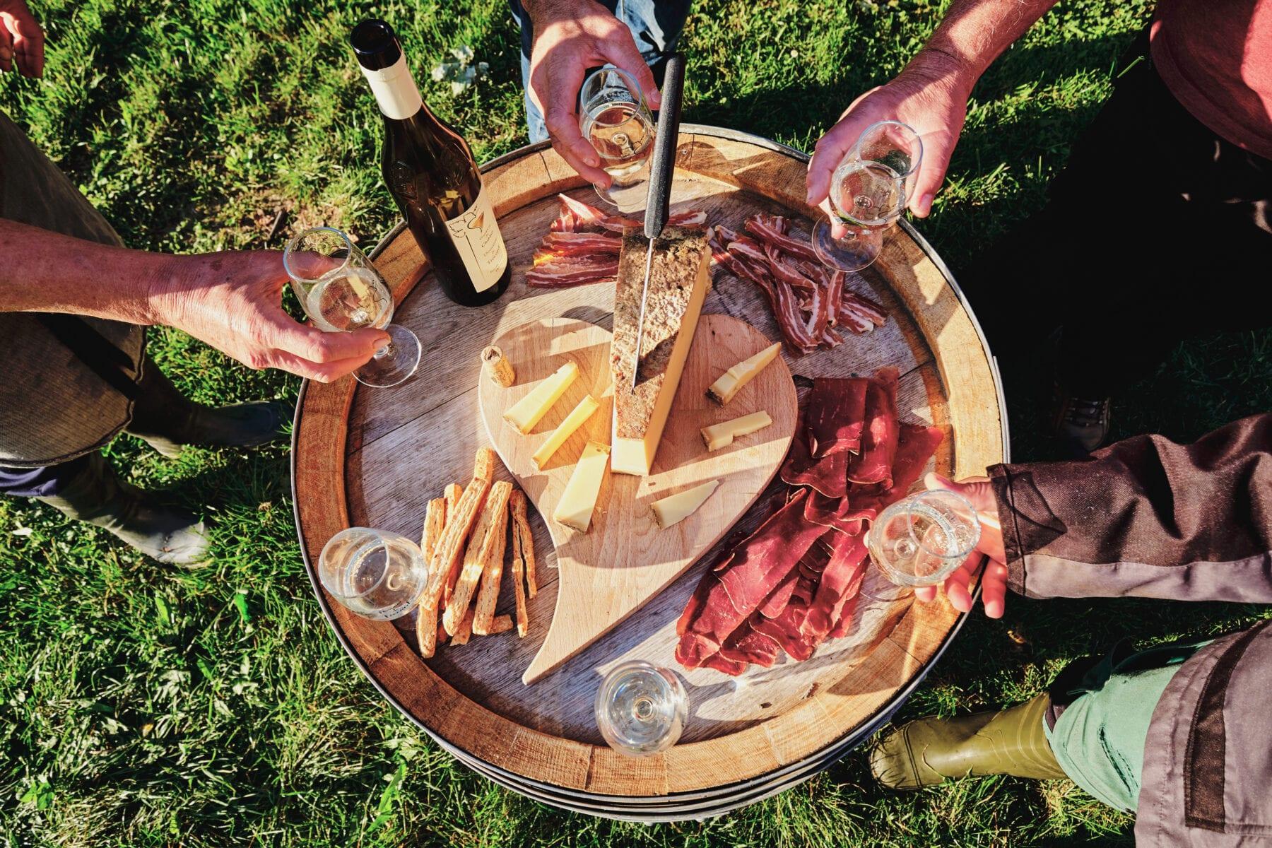 Wijnproeverij met Apero in Vaud