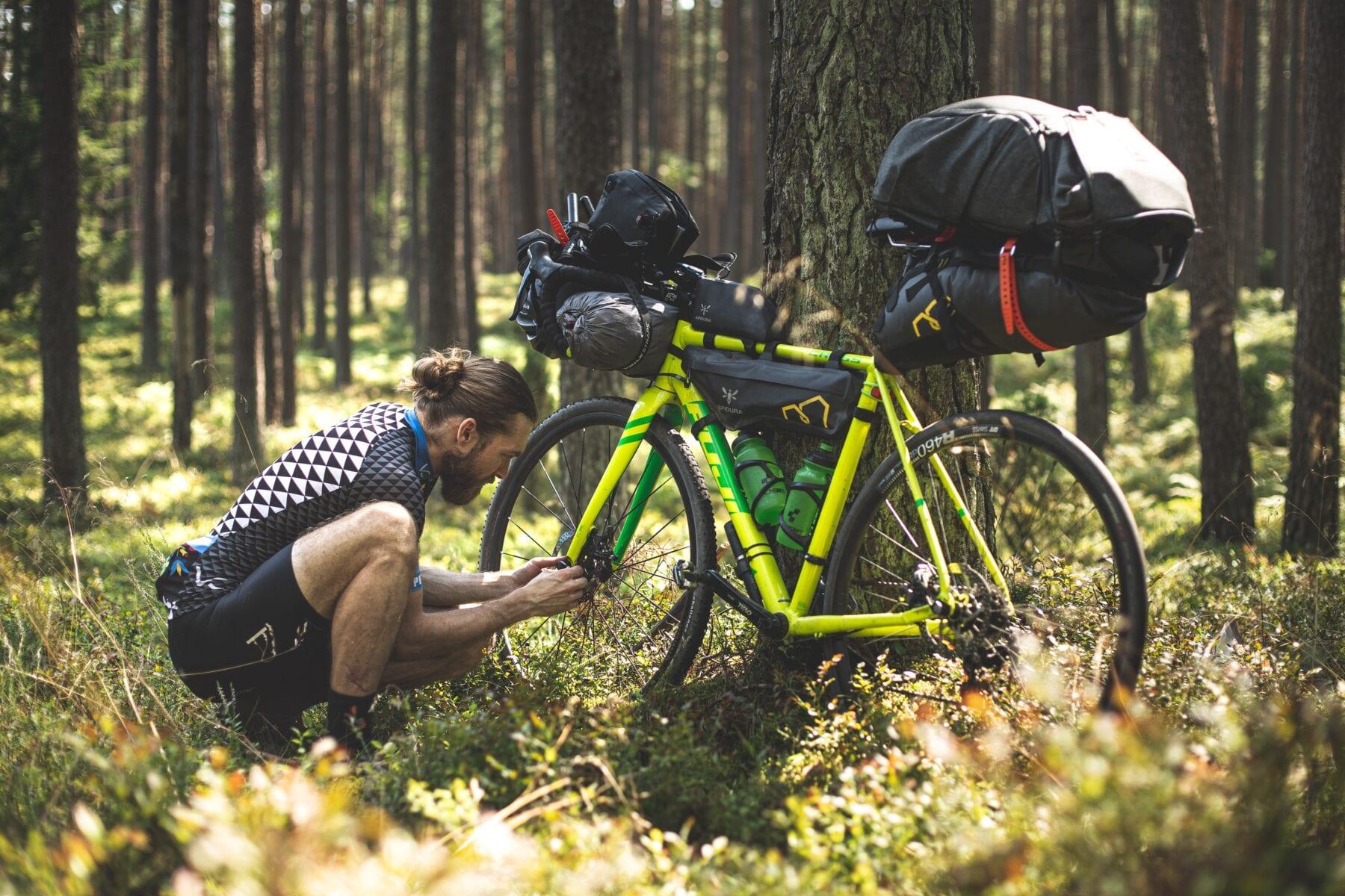 bikepacking fiets onderhoud