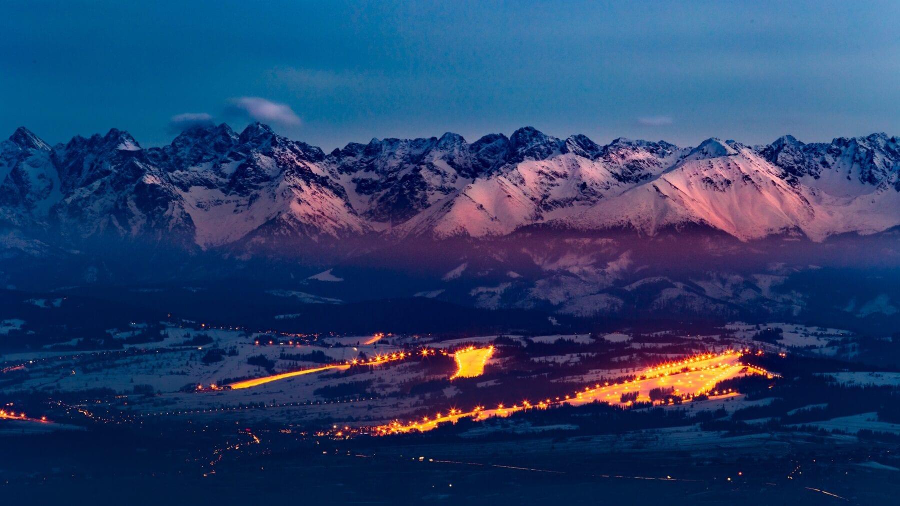 Tatra gebergte Polen