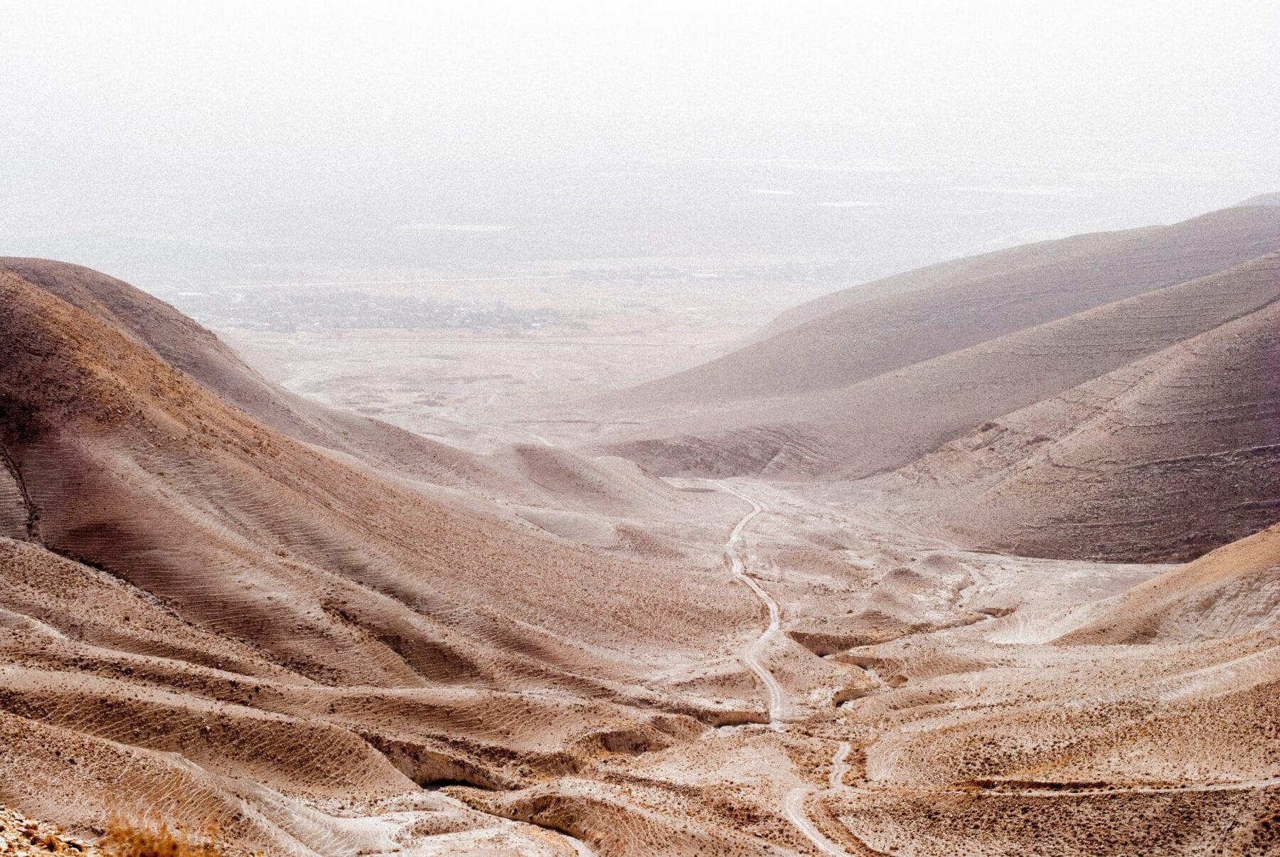 Israël bike trail route