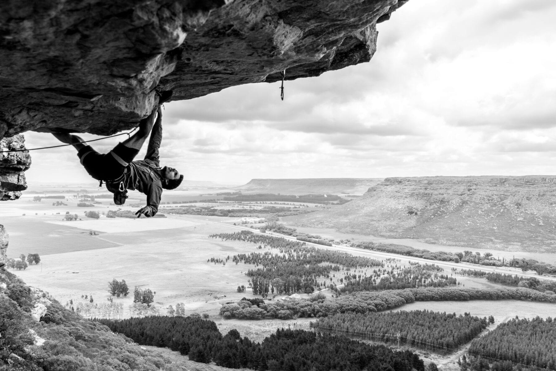 Overhang klimmen-hoogste klimtoren