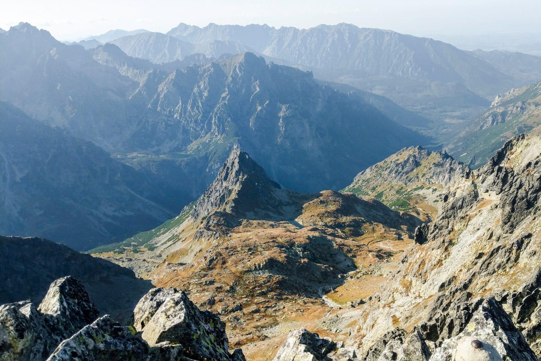 Uitzicht Tatra gebergte Polen