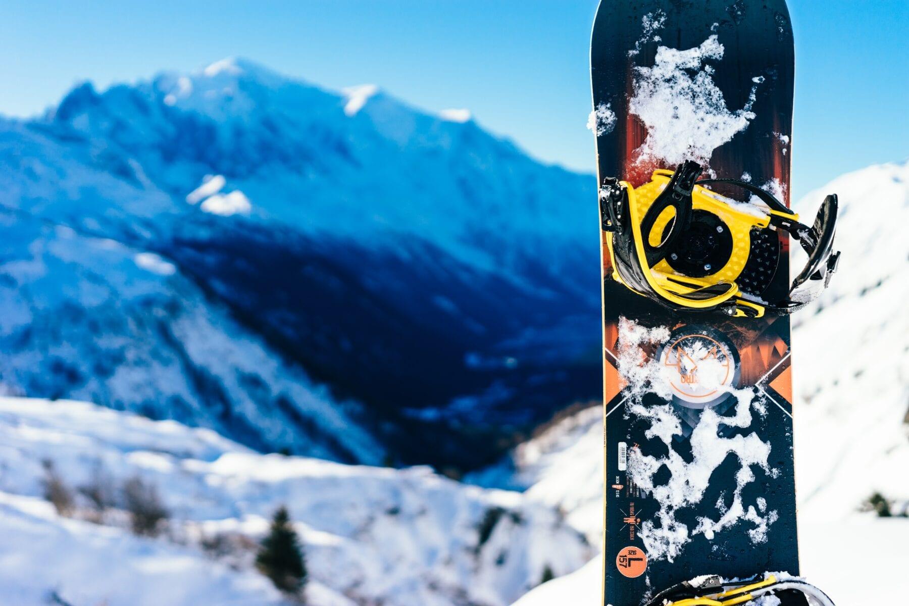 Winterberg geopend snowboard