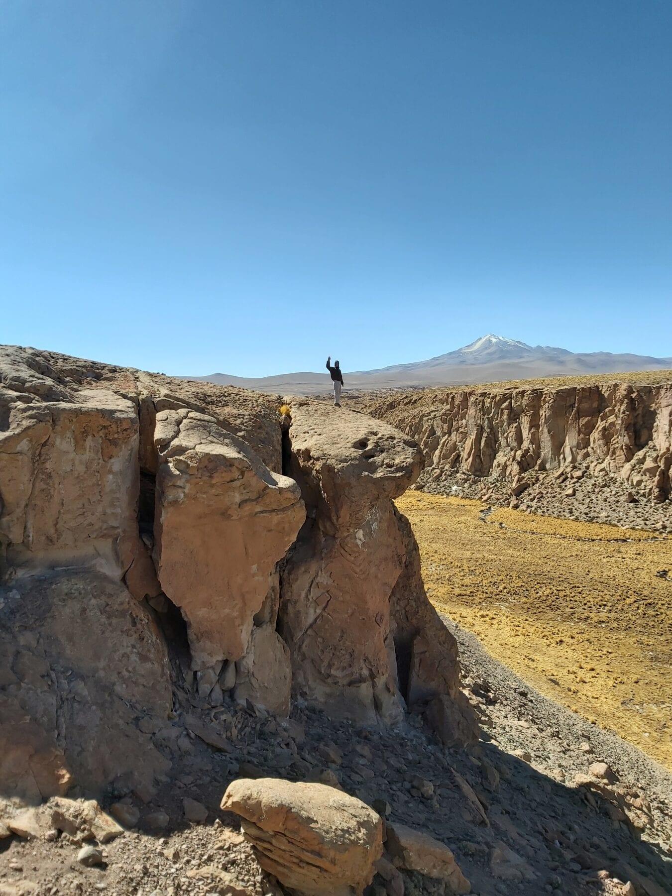 Uitzicht in Bolivia