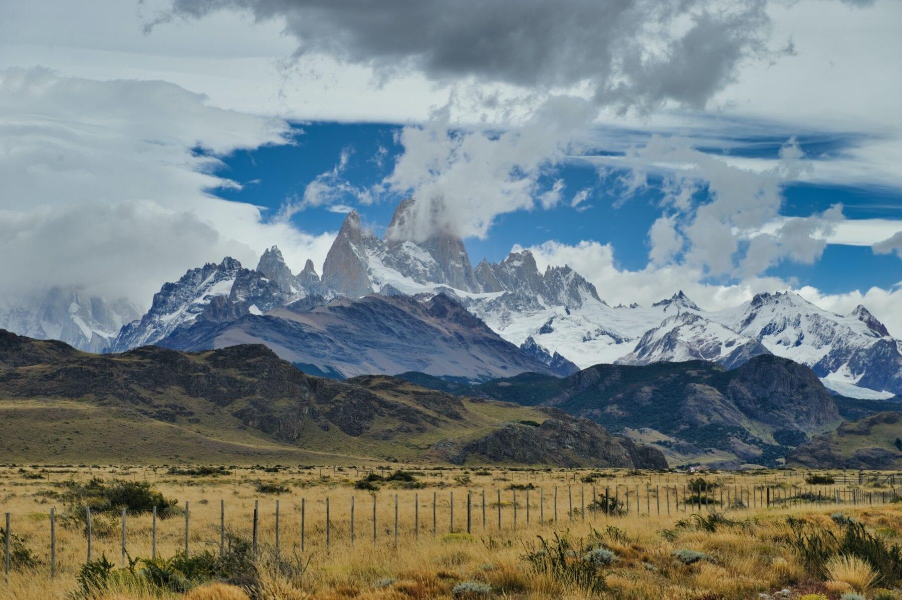 gebergten Zuid-Amerika
