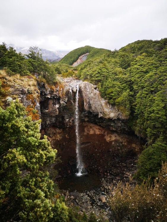 Mount Ruapehu waterval