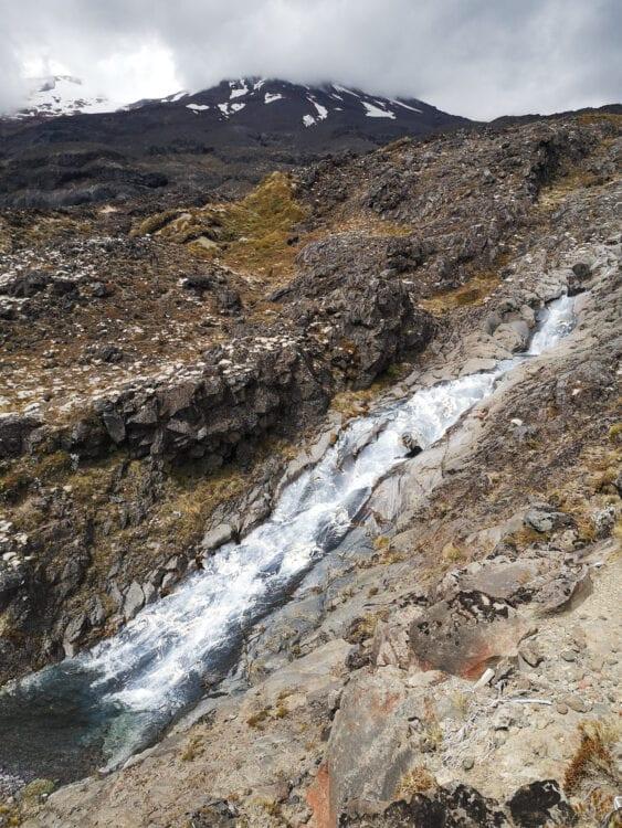 Mount Ruapehu rivier