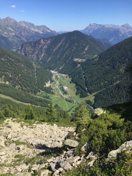UTMB Mont Blanc uitzicht MCC