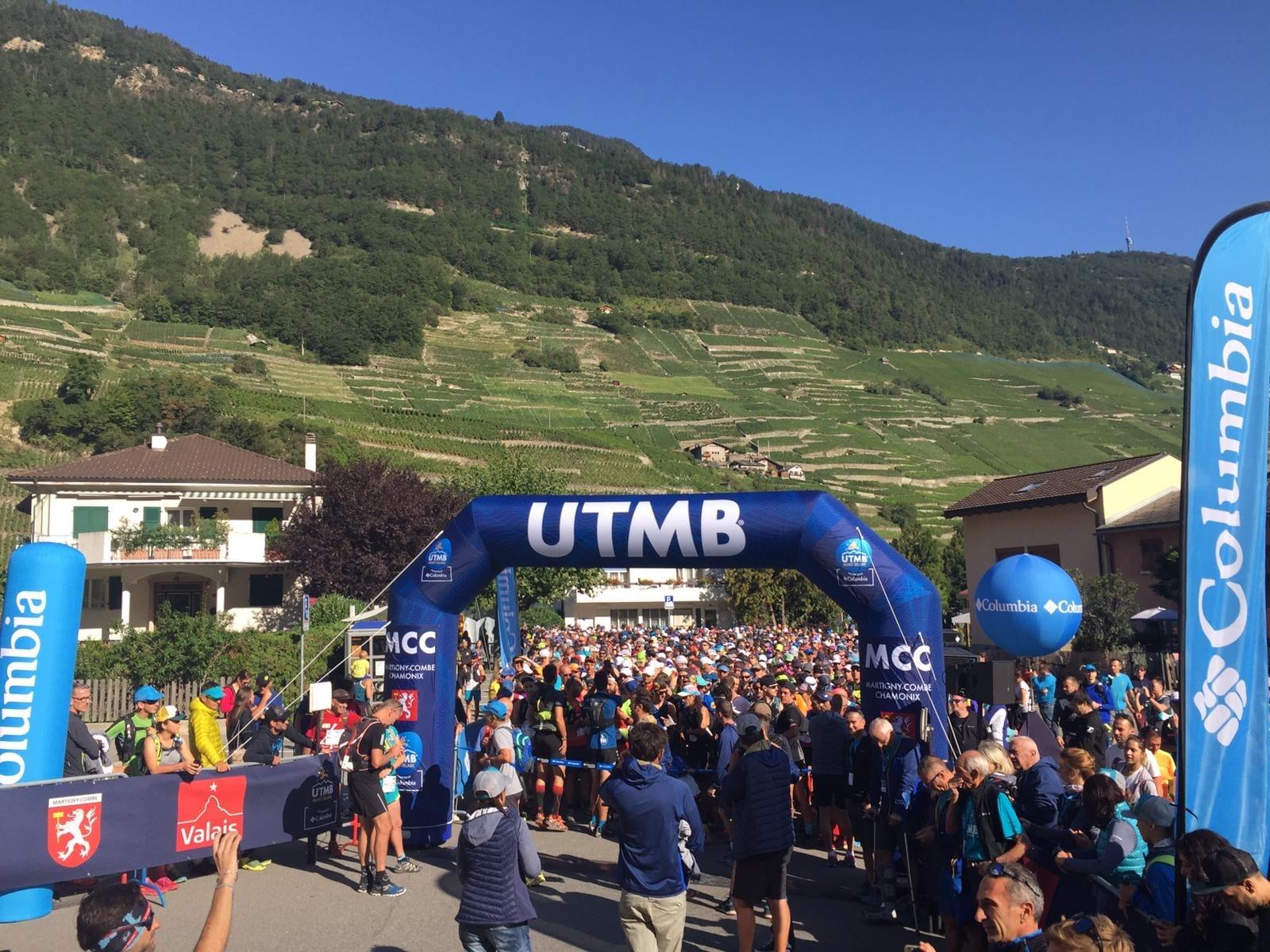 UTMB Mont Blanc start