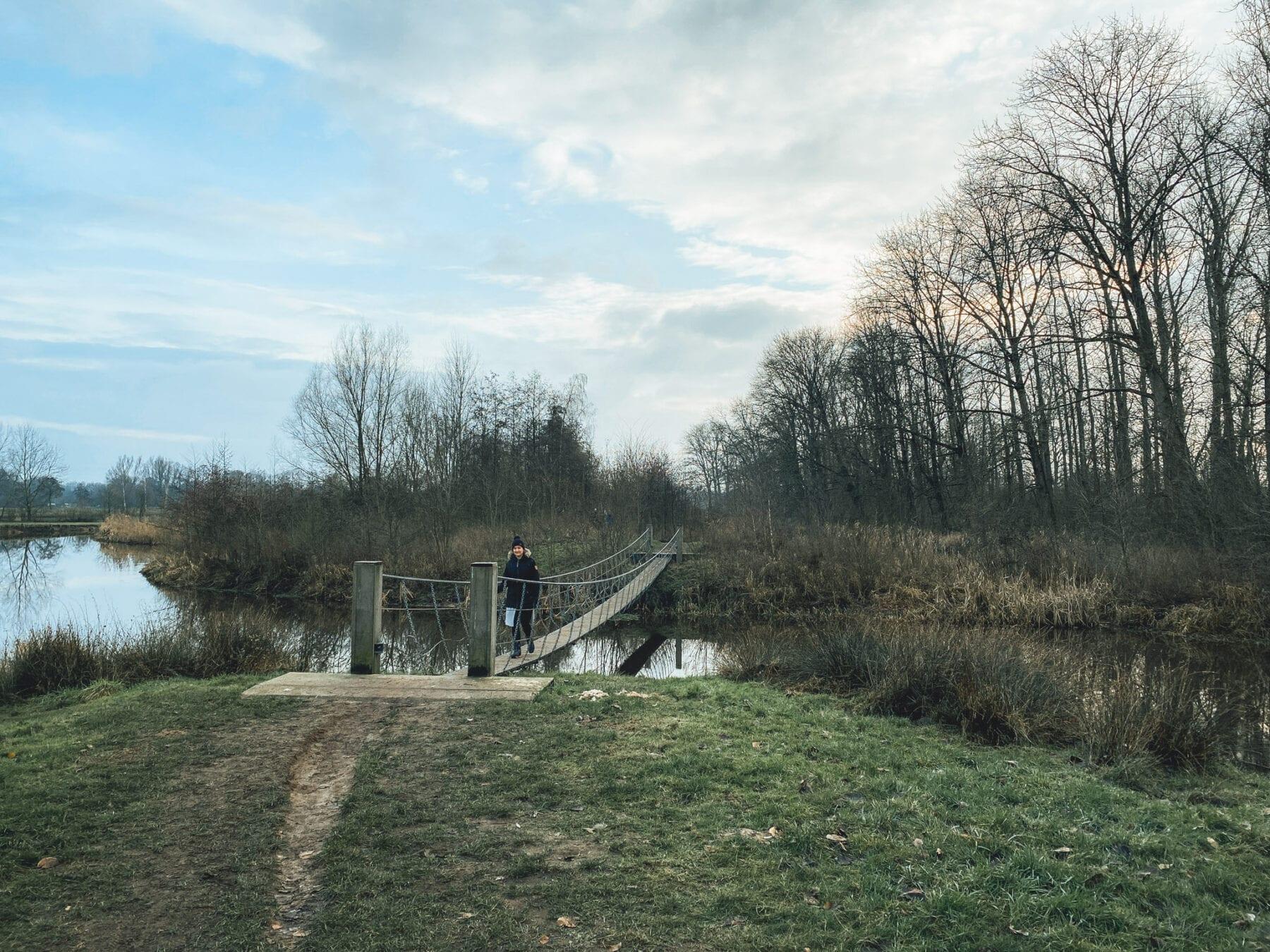 Wandelen Halder hangbruggen