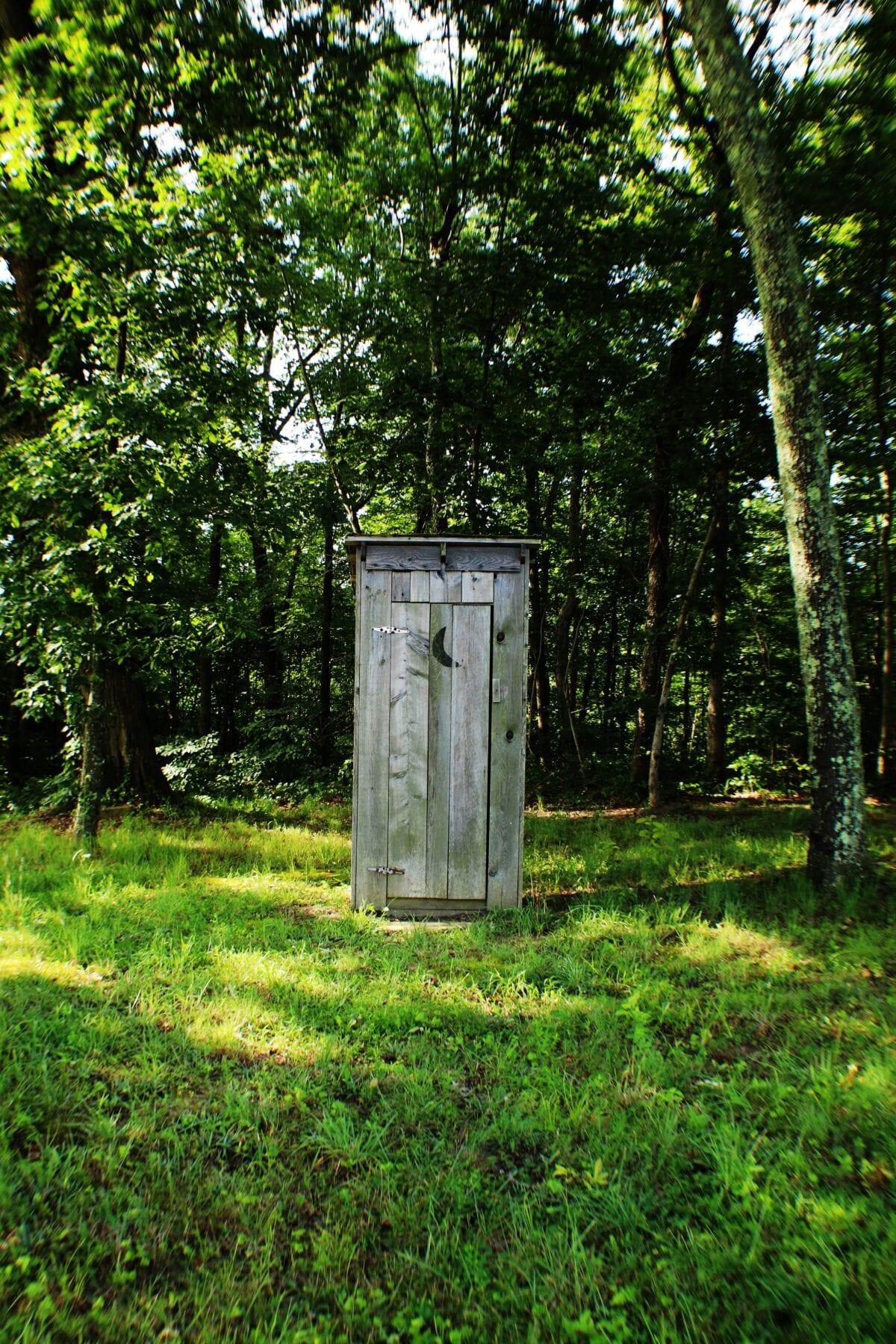Outdoor wc - wildplassen