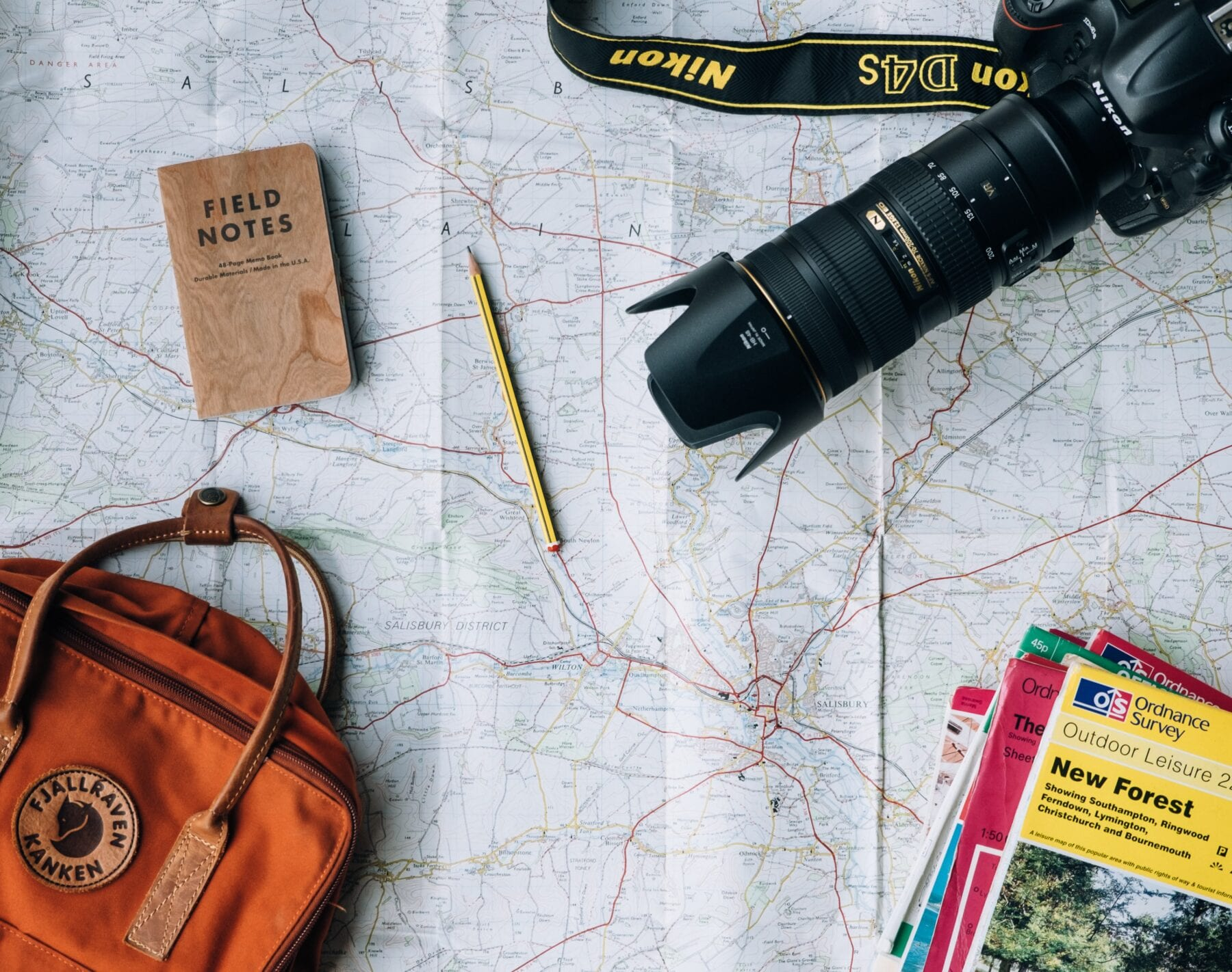 goed voorbereid op reis spullen