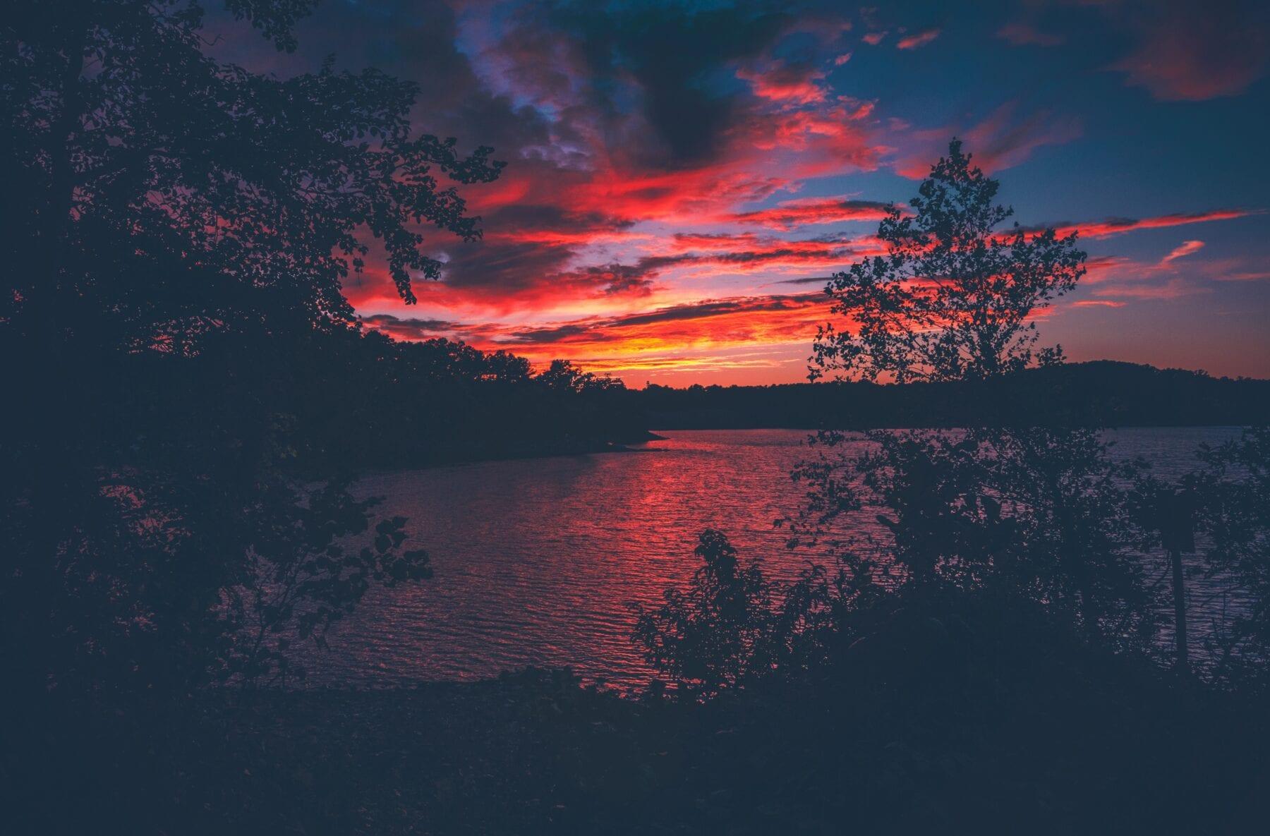 Zonsondergang - Hoe laat wordt het licht