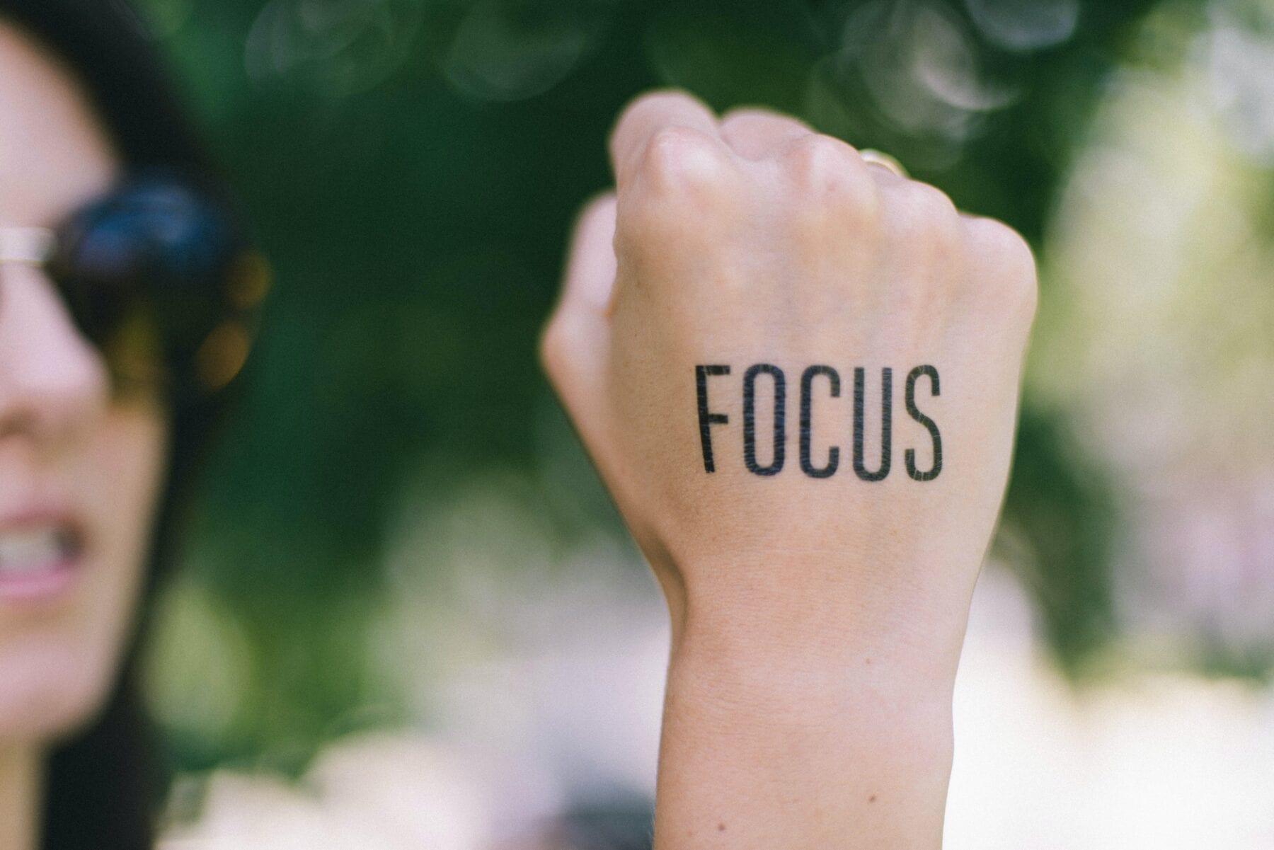 Focus is blangrijk in de Hell Week