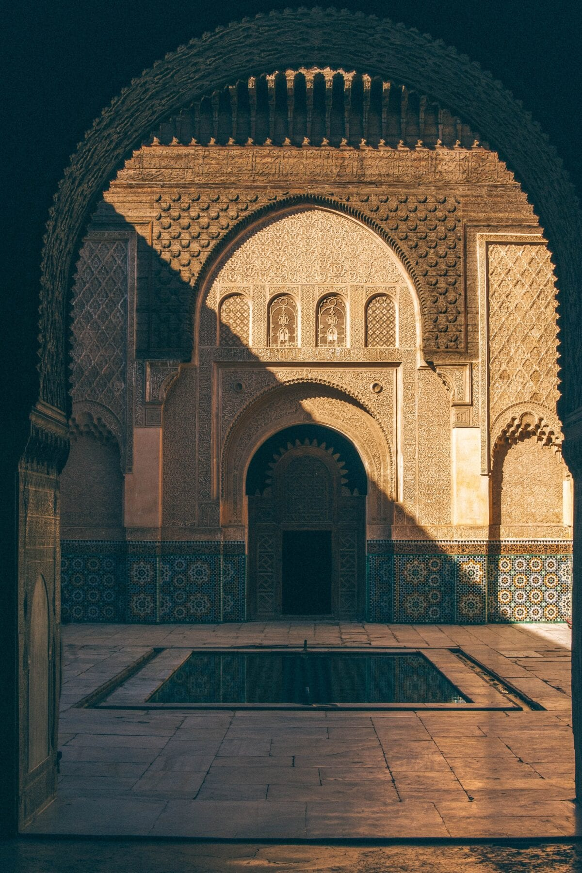 Binnenplaats Marokko