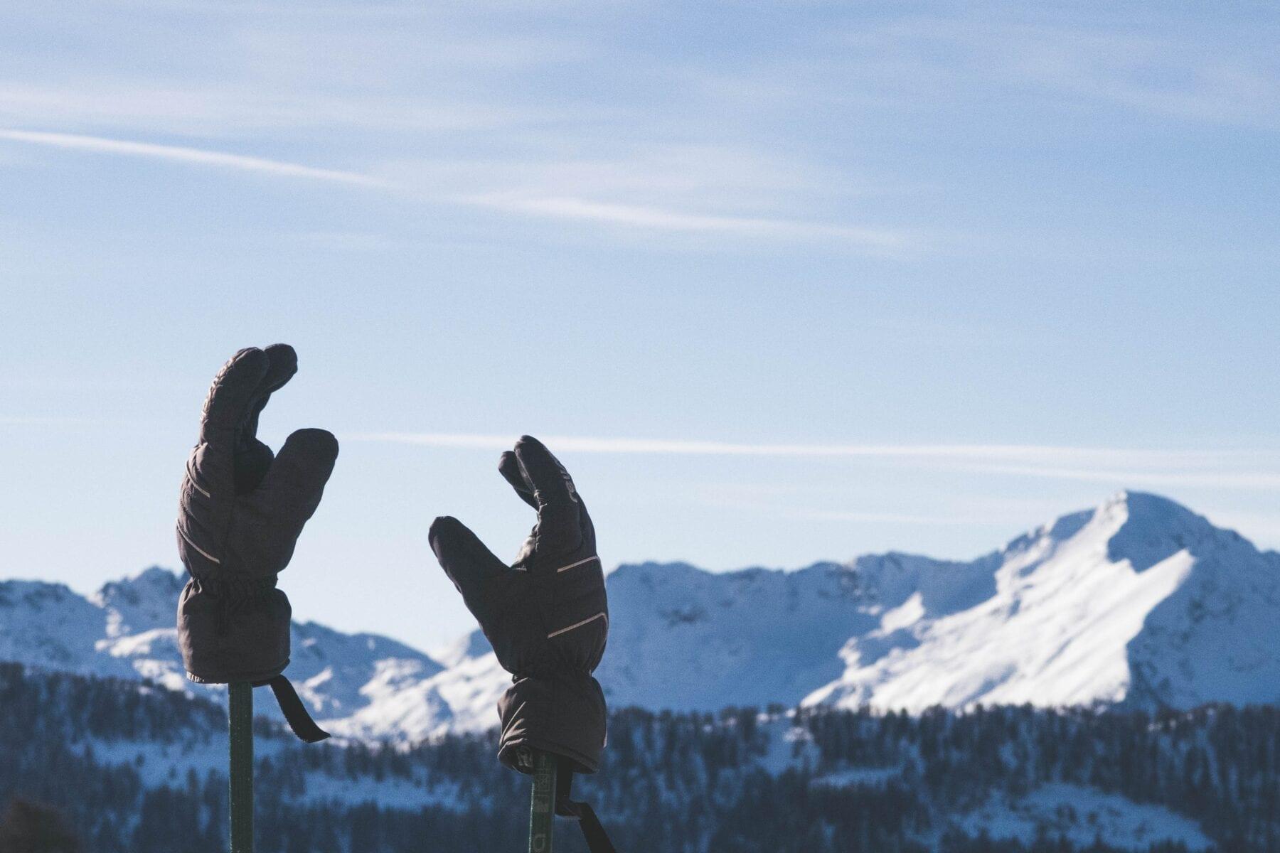Warme handschoenen tegen koude handen