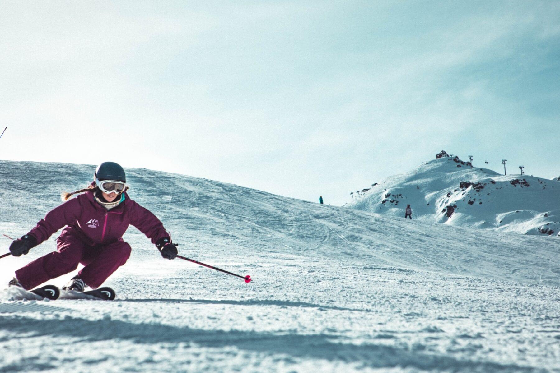 Skiën tegen koude handen