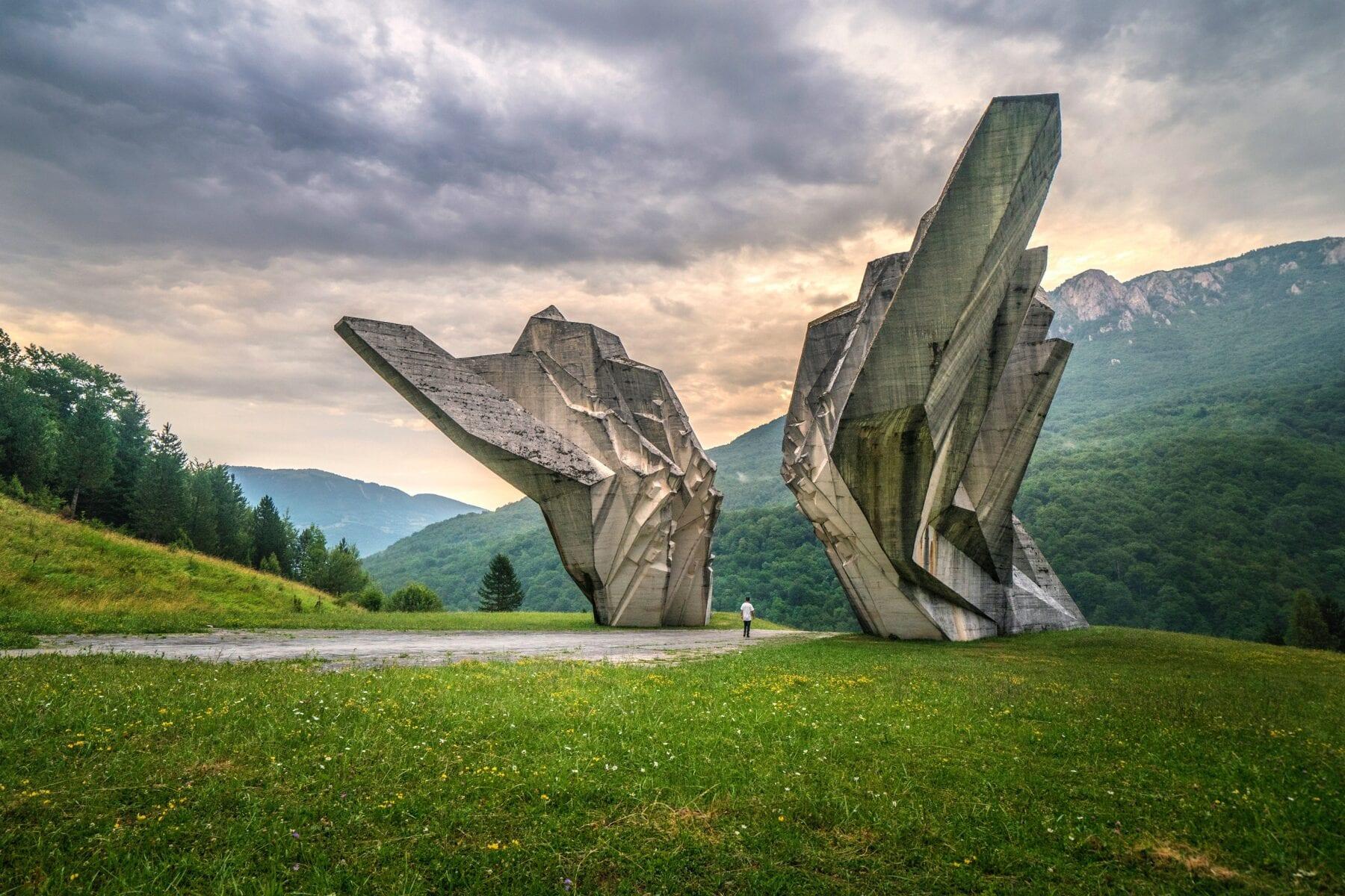 Monument in Bosnië en Herzegovina