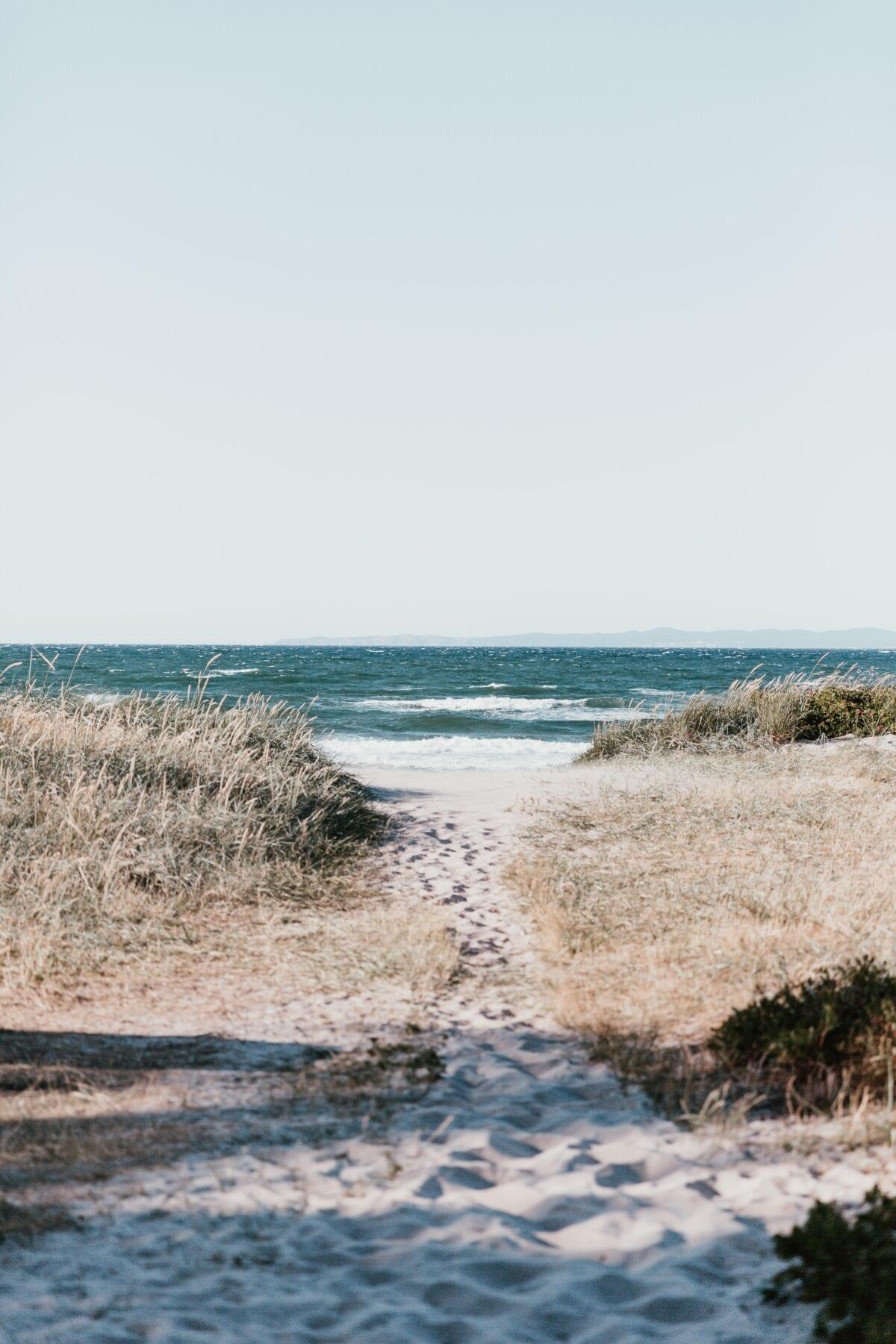 De zee van Denemarken