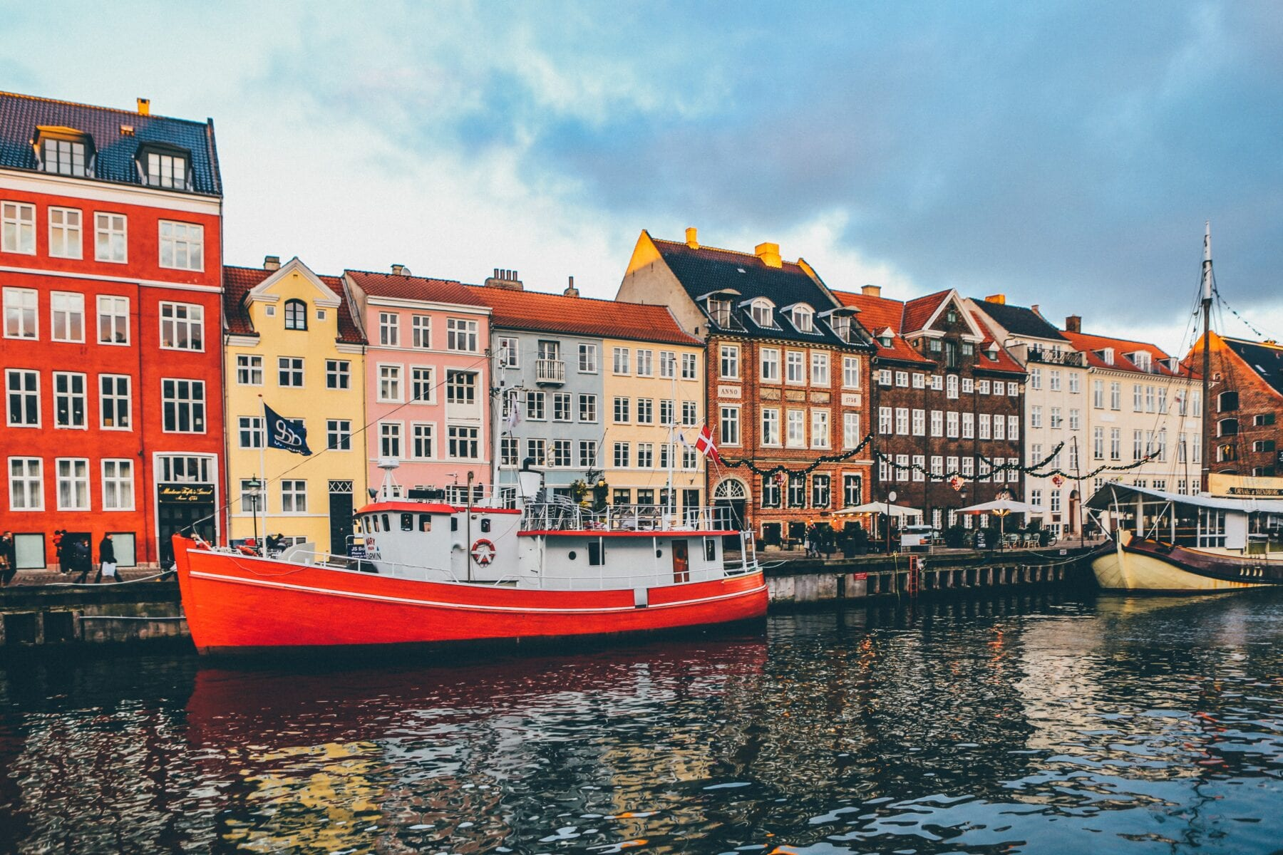De grachten van Kopenhagen