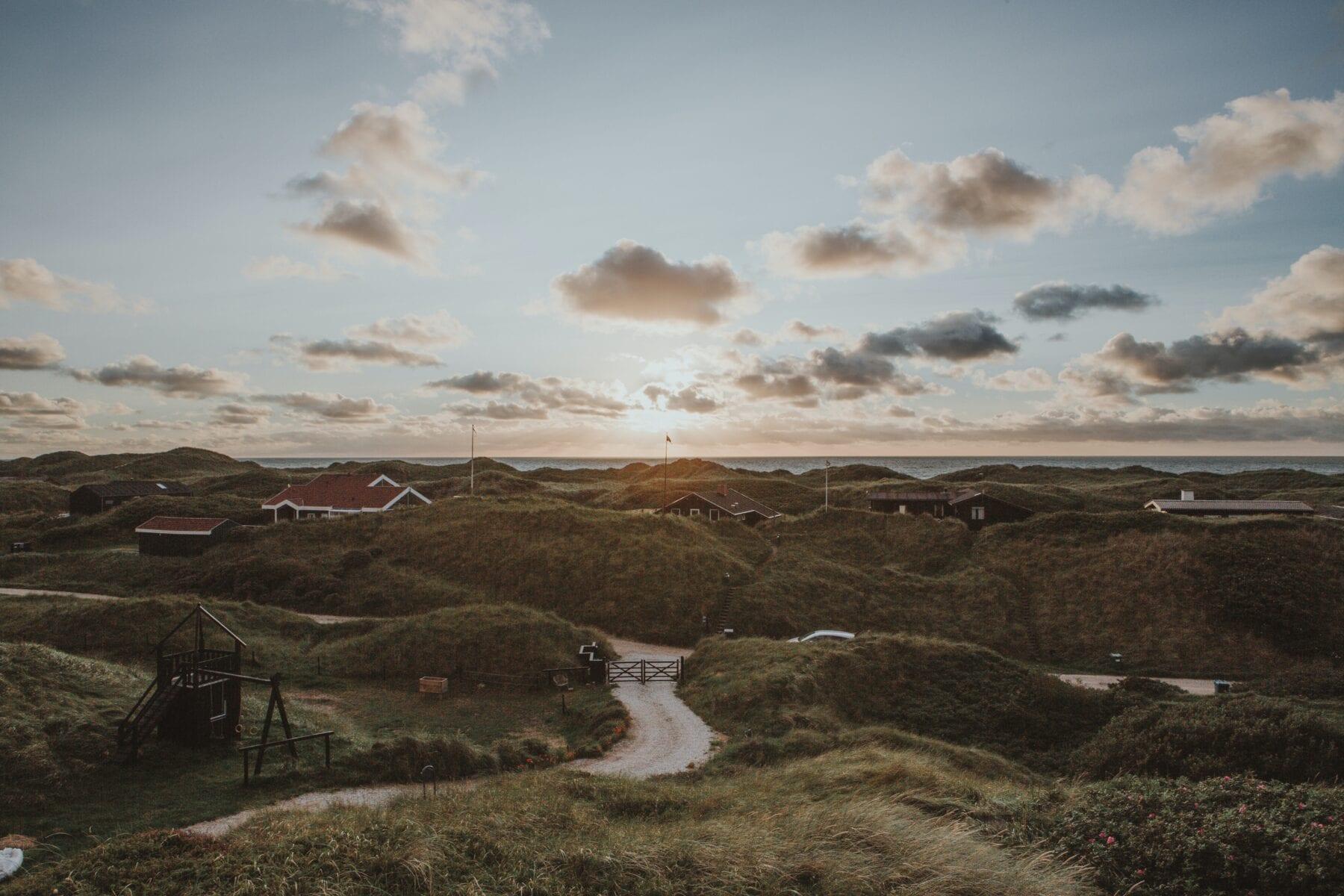 Heuvelachtig landschap Denemarken