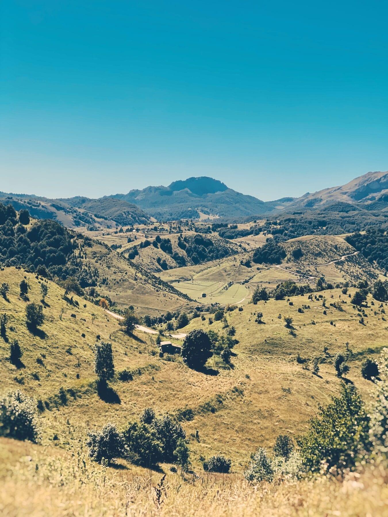 Landschap in Bosnië en Herzegovina