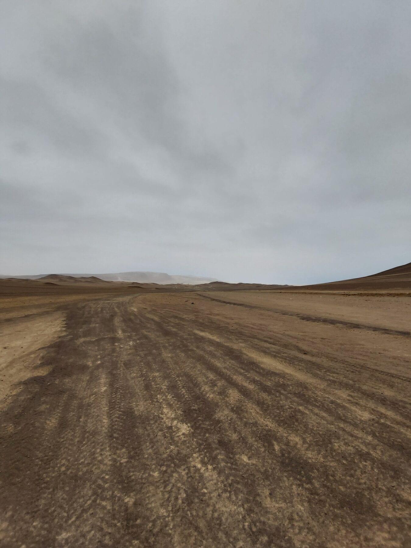 Paracas woestijn