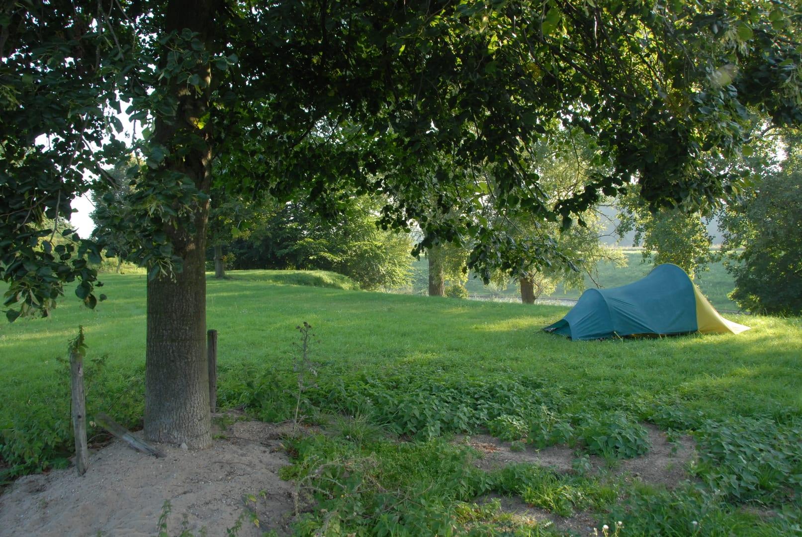 Campspace bij fort