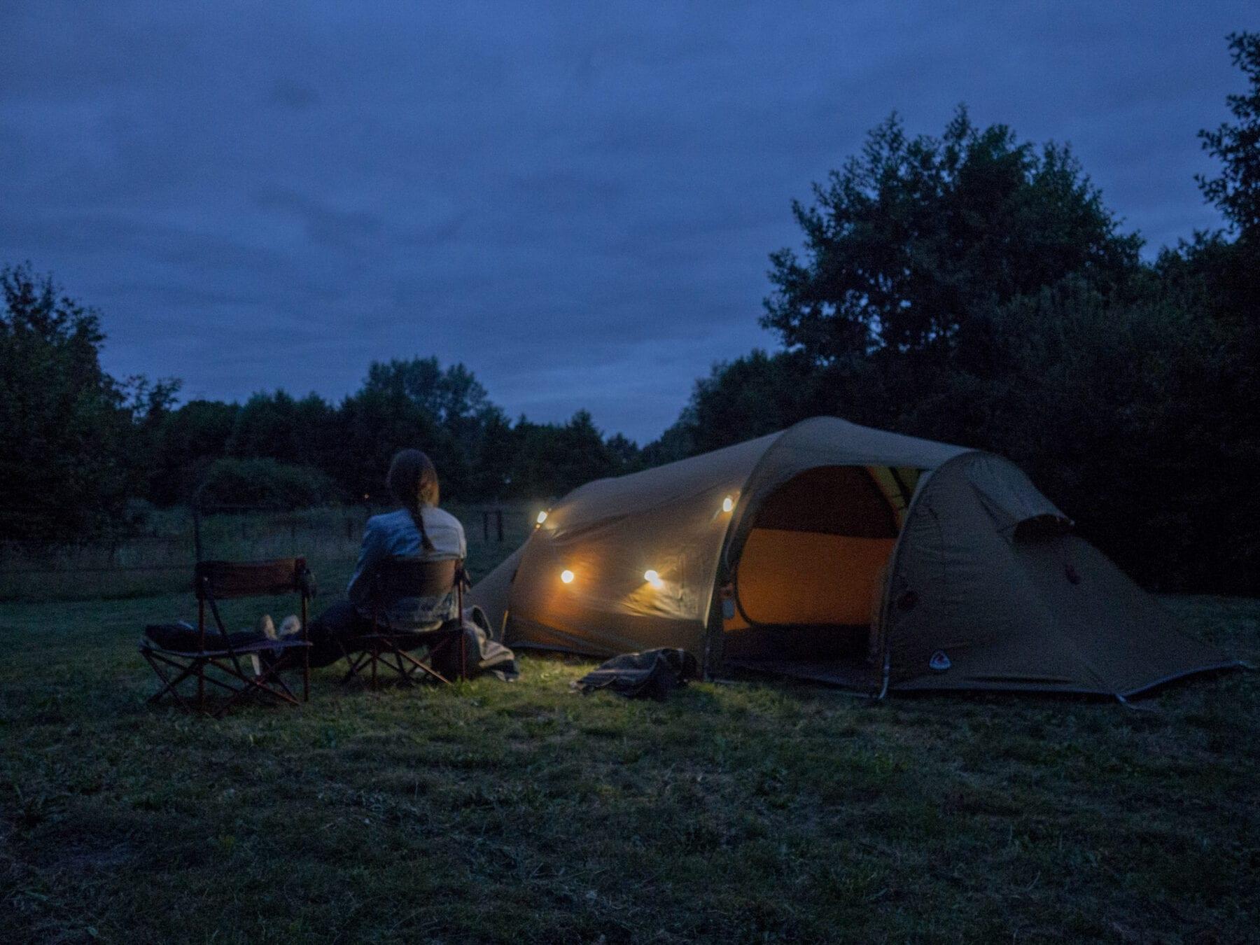 Campspace Trekvogelpad overnachten
