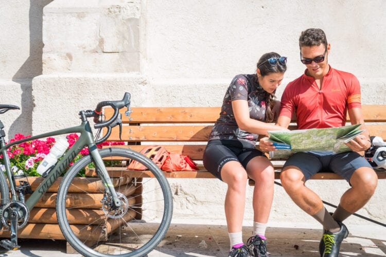 DoGa fietspad Dolomiti Garda kaart