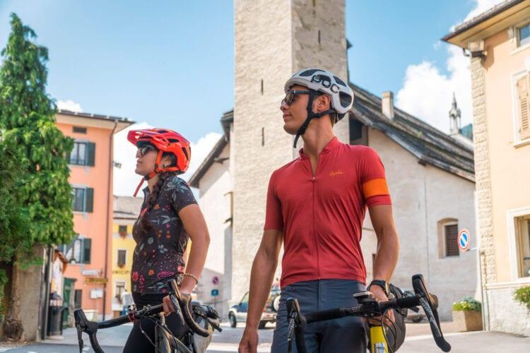 DoGa fietspad Dolomiti Garda Italiaans dorpje