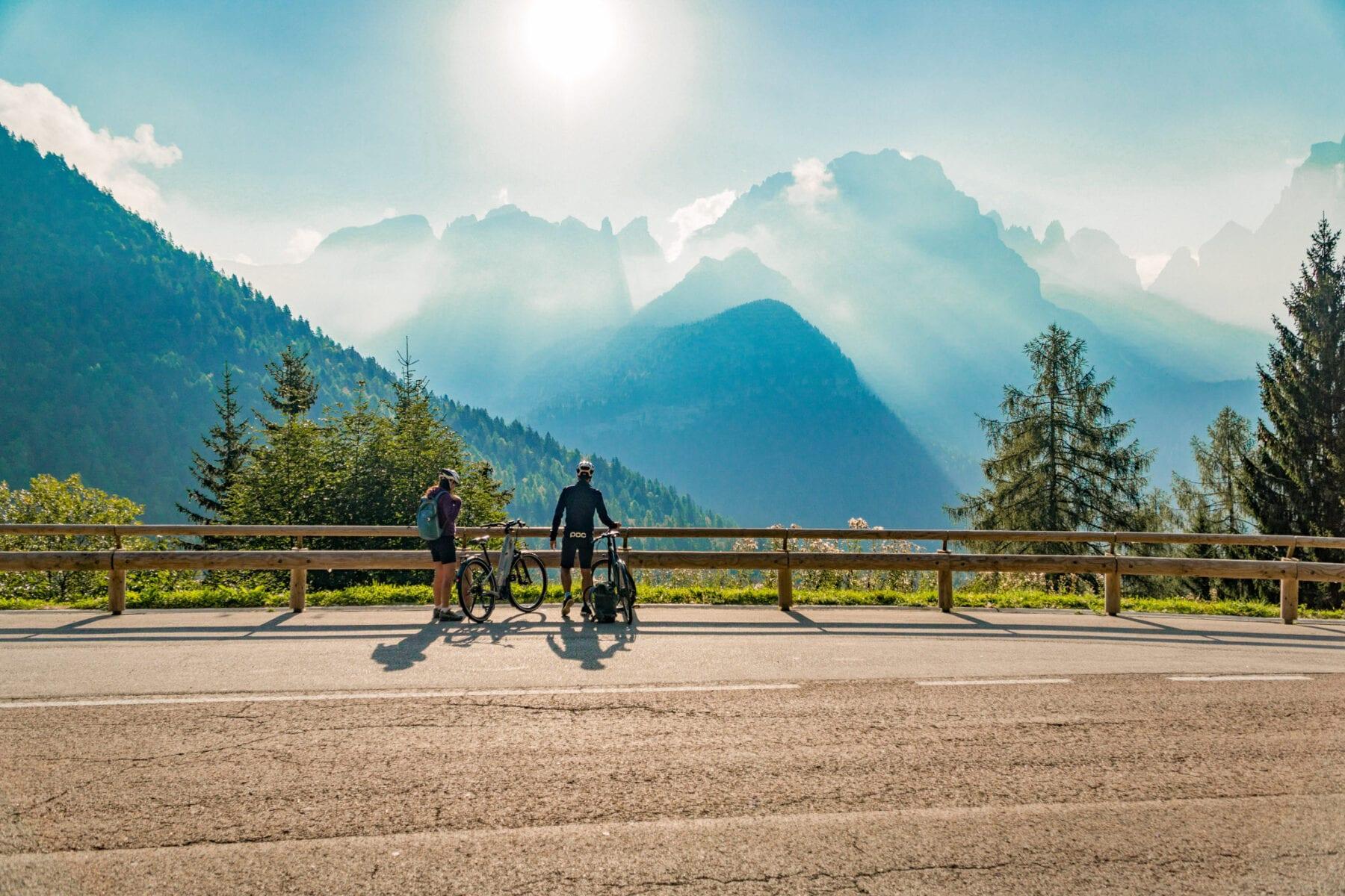 DoGa fietspad Dolomiti Garda bergen