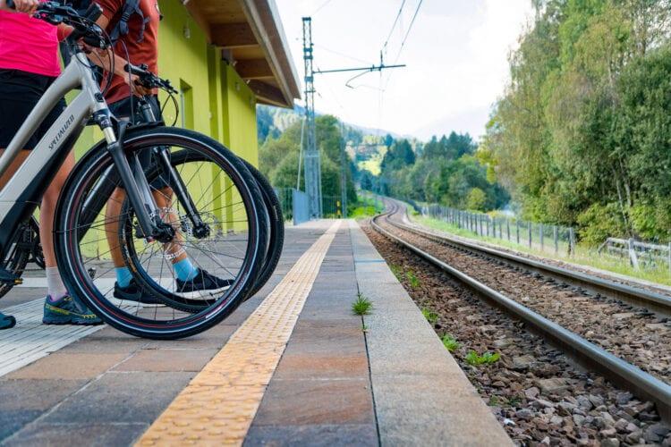 DoGa fietspad Dolomiti Garda trein
