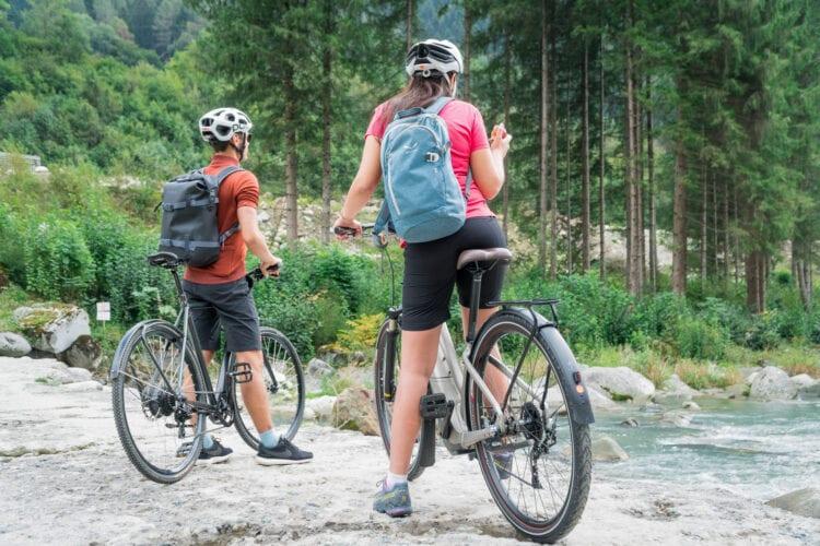 DoGa fietspad Dolomiti Garda bos