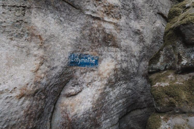 Mullerthal Trail Labyrinthe