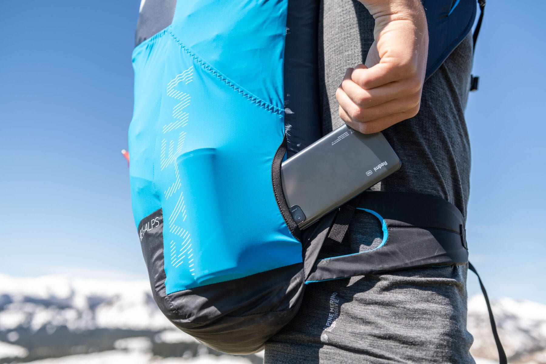 Redmi Note 10 5G backpack