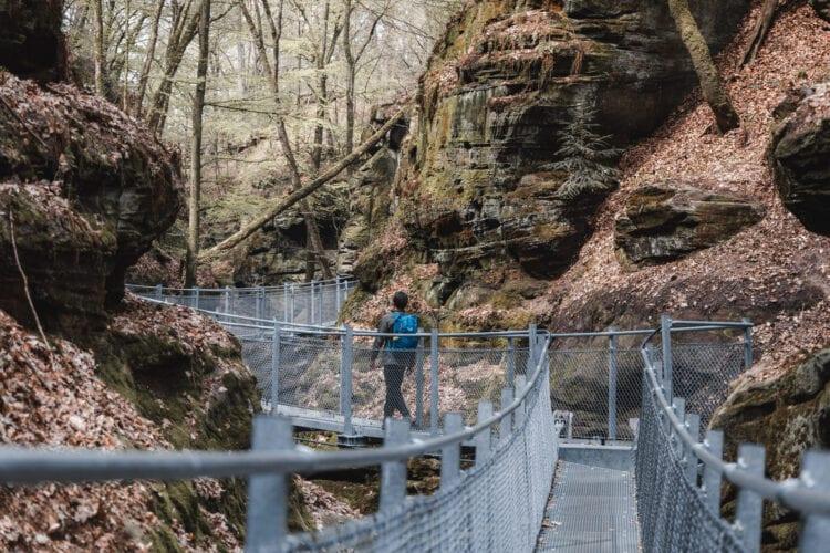 Wandelingen in Luxemburg Mullerthal Trail