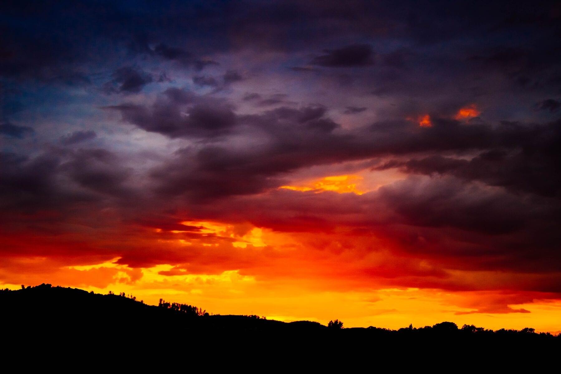 Zonsondergang fotograferen