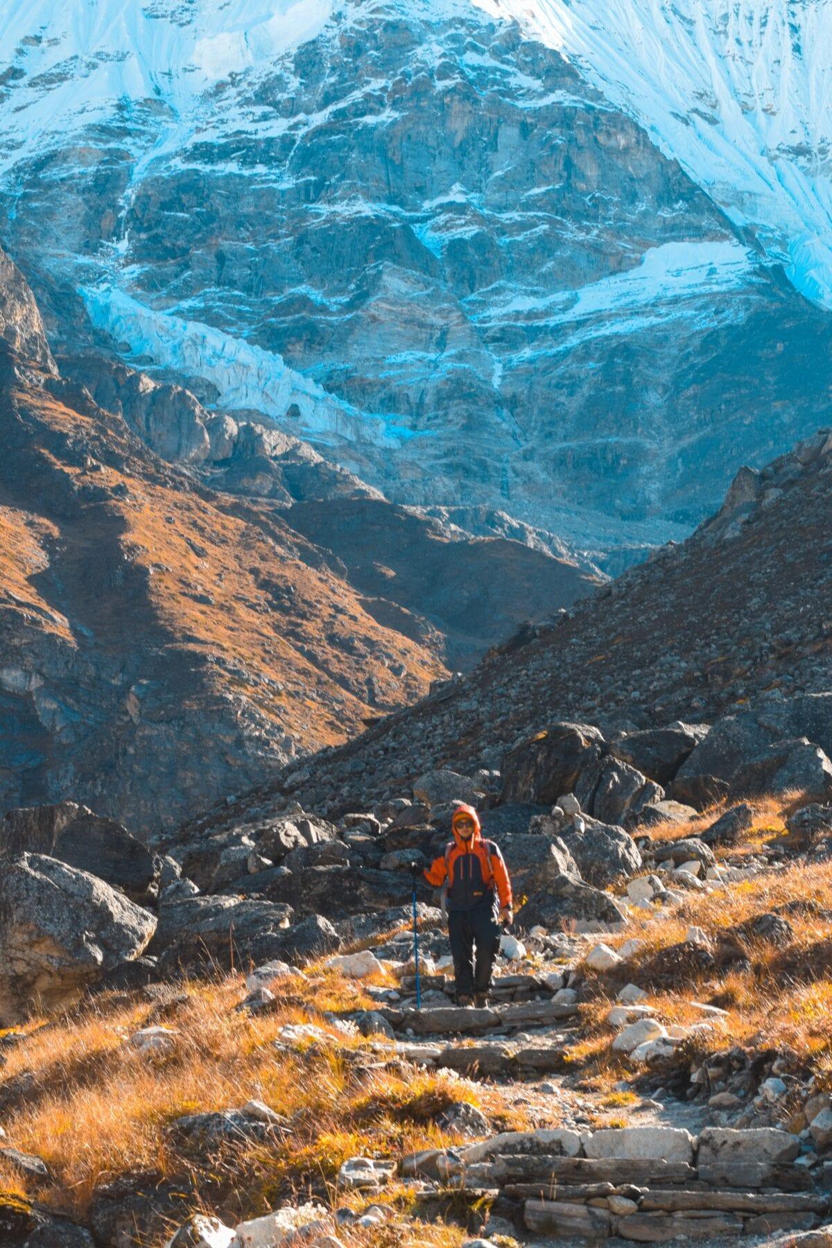 berg beklimmen