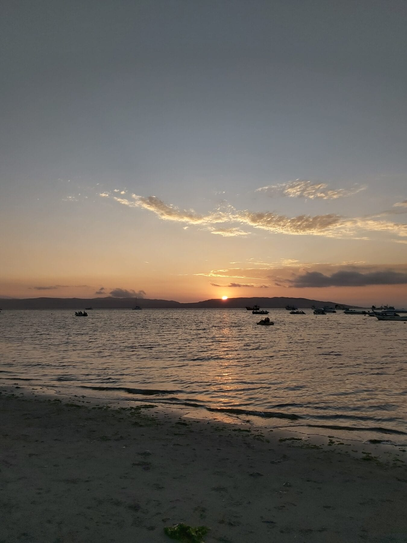Zonsondergang Paracas