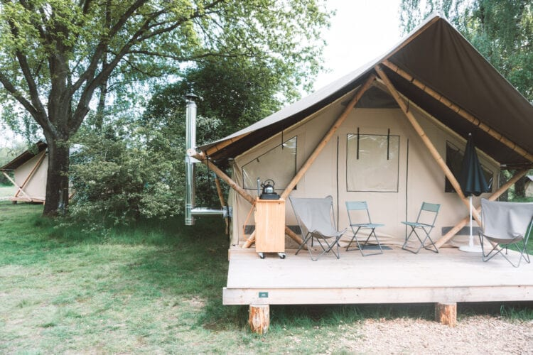 Huttopia Camping de Roos Glamping