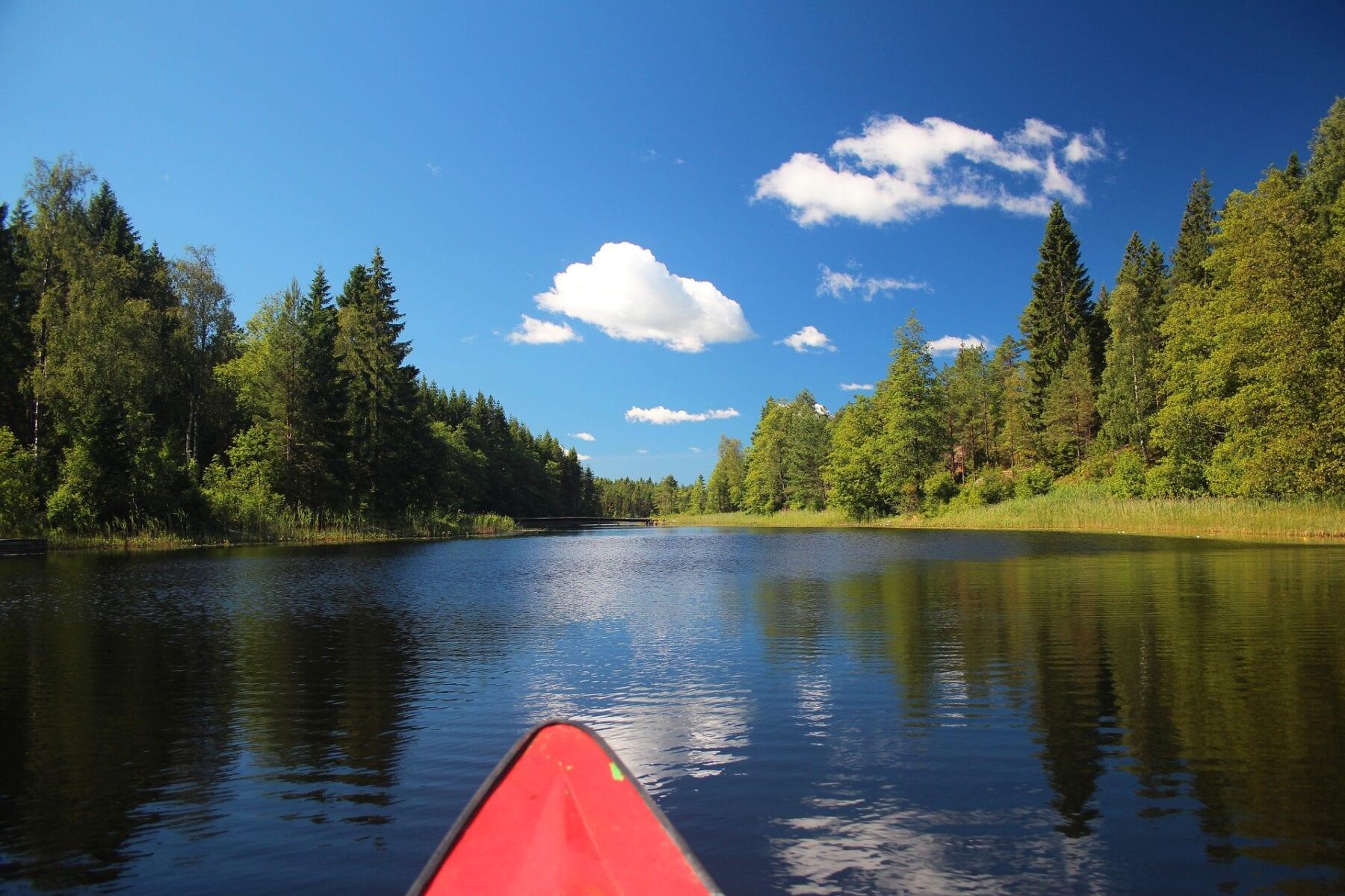 Kanoën Zweden Värmland