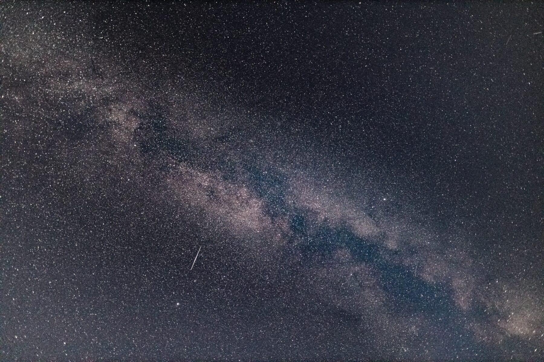 fotograferen melkwegstelsel