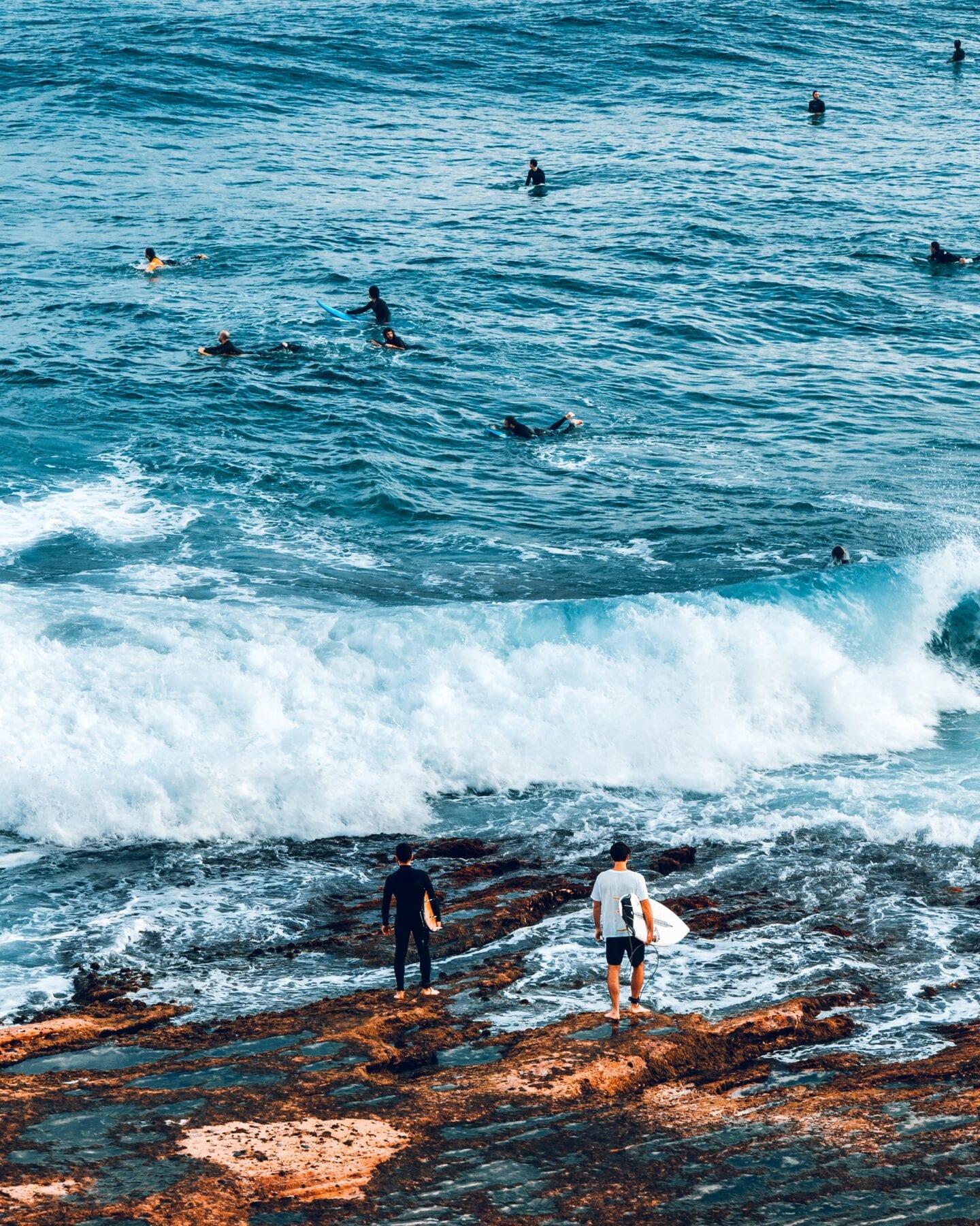 Surfers Australië