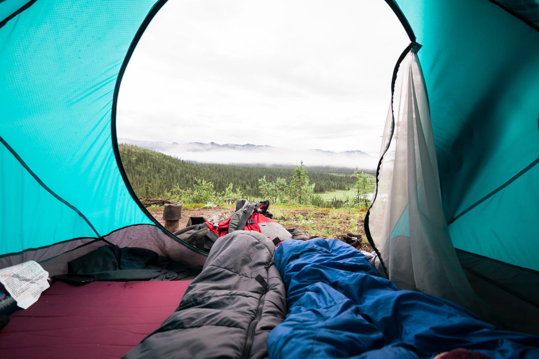 Slaapzak bergen