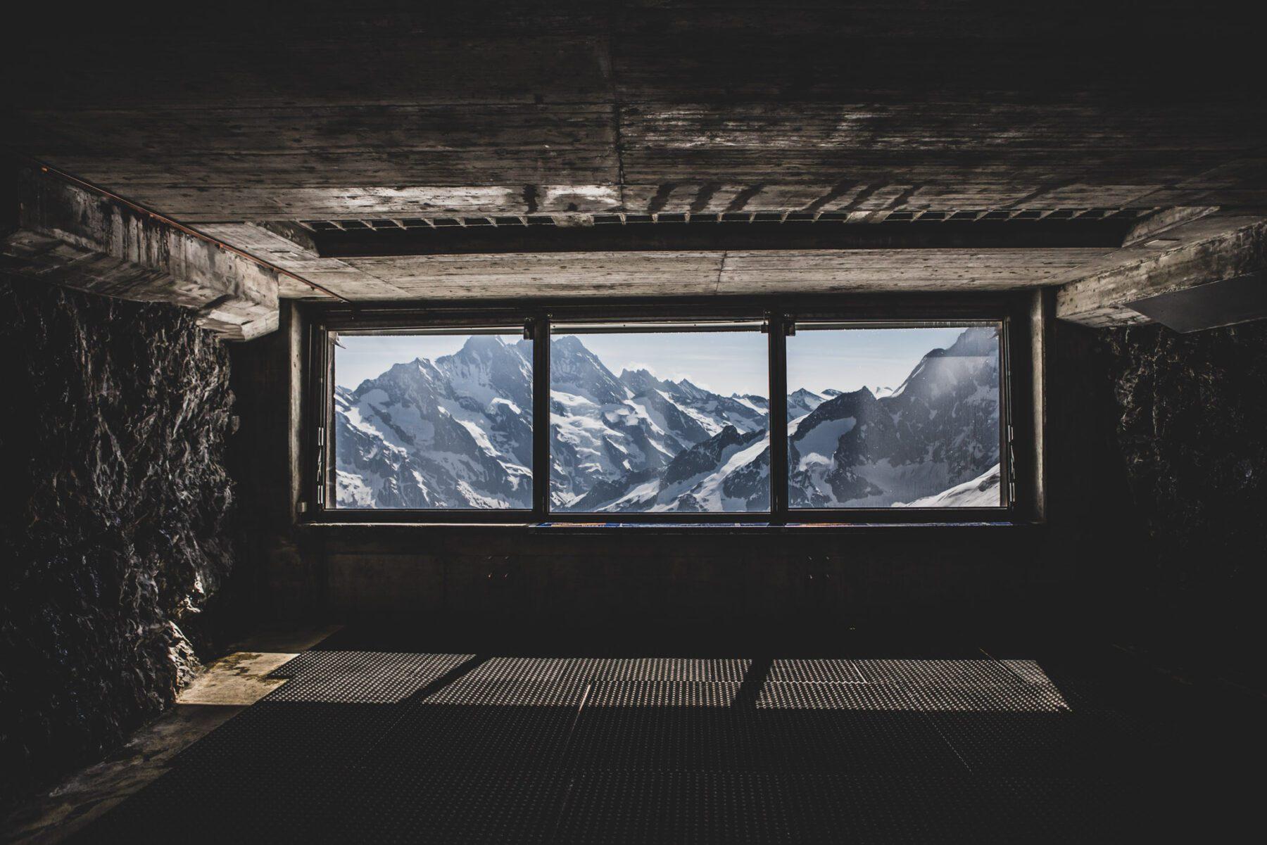 Jungfraujoch tussenstation
