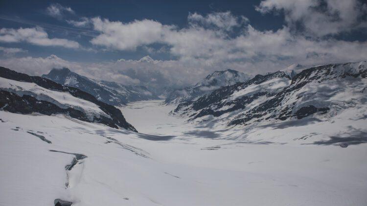 Jungfraujoch Aletschgletsjer