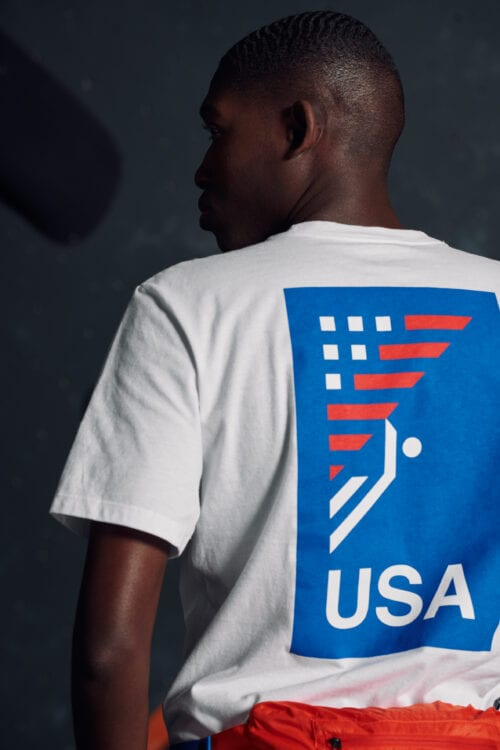 The North Face International Collection USA shirt