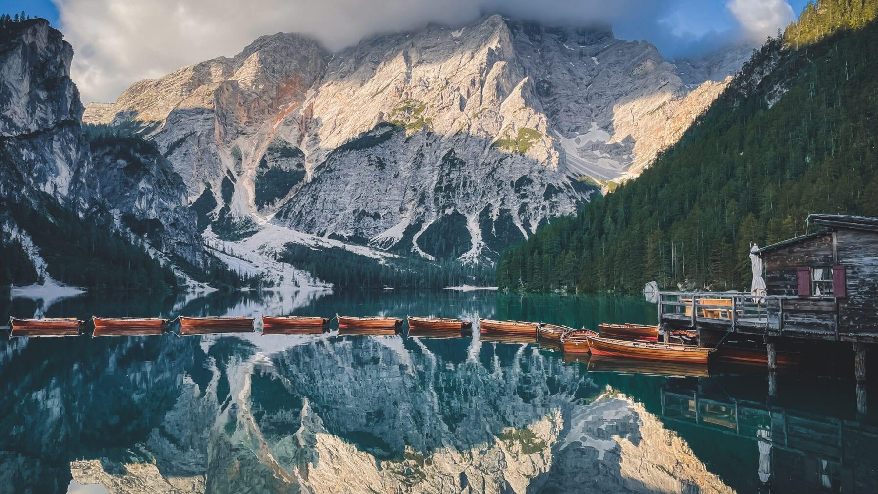 Pragser Wildsee-Via Alpina trail